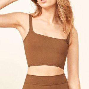 NWT REFORMATION Majorca Bikini Top Size L